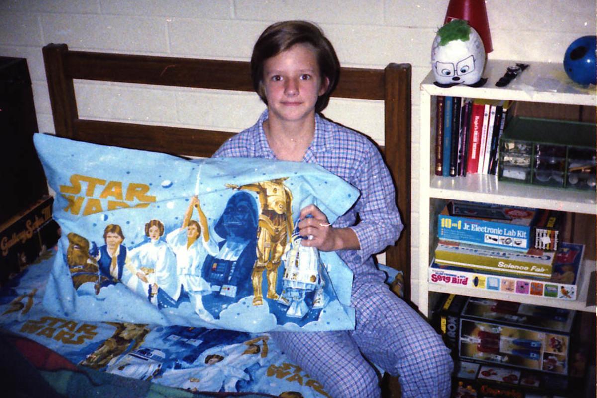 Star Wars bed sheets 1978.