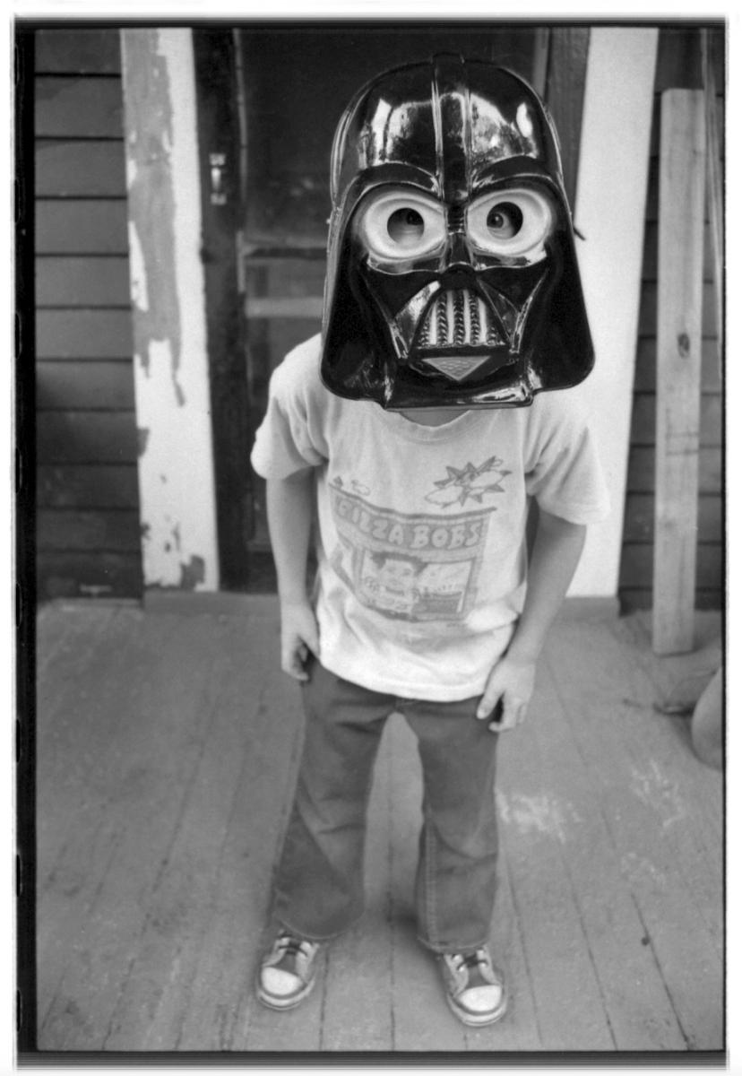 Darth Vader mask.
