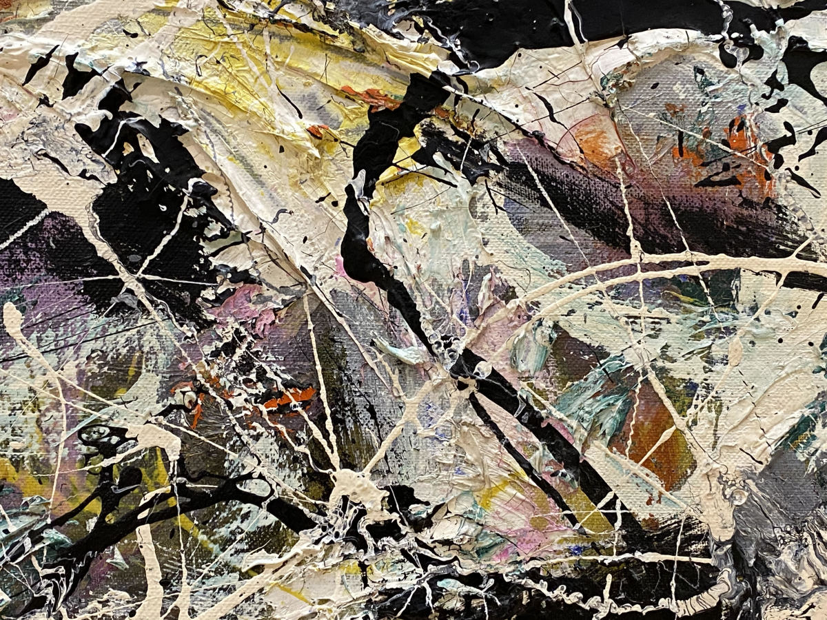 Greyed Rainbow, 1953, Jackson Pollock.