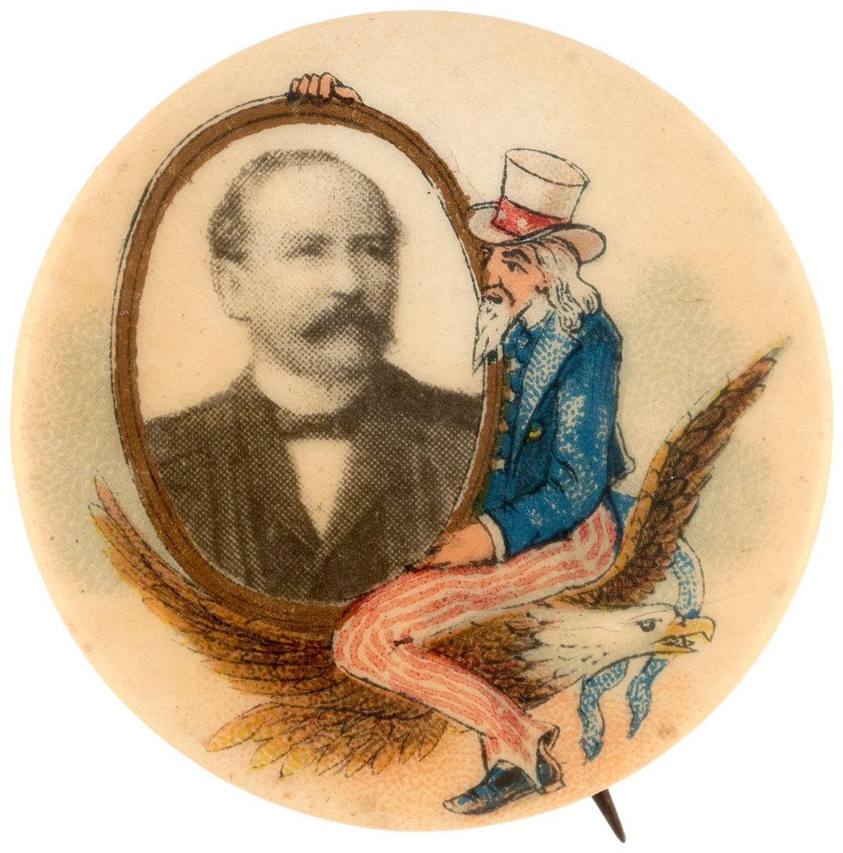 Alton Parker Pinback from 1904