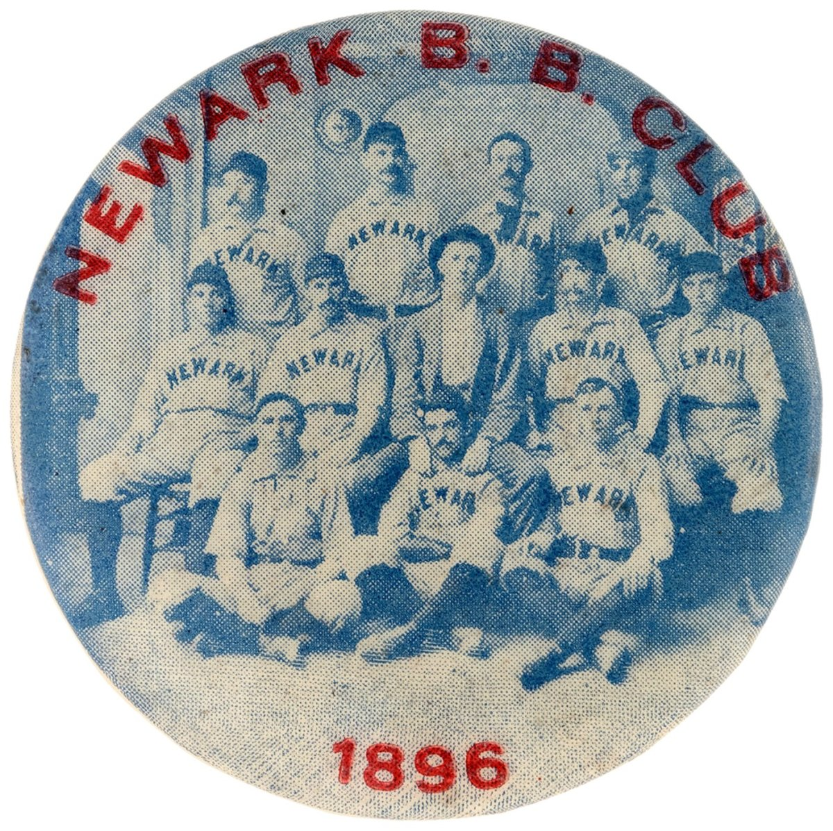 1896 Neward Baseball Club Pinback