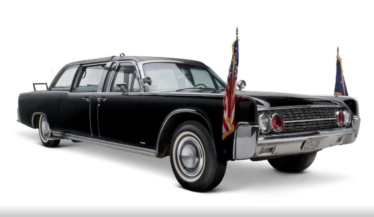 President Kennedy's limousine