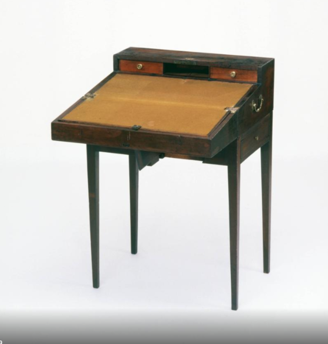 Edgar Allan Poe's writing desk