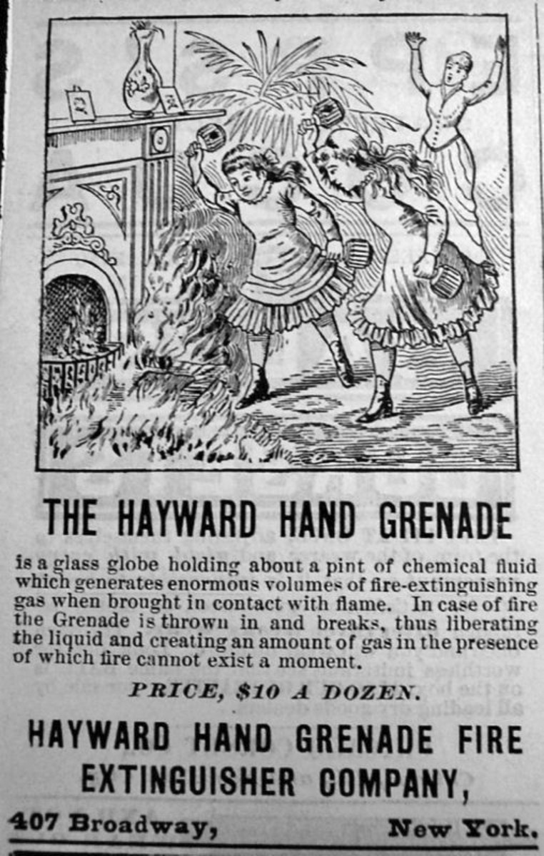 Hayward Hand Grenade