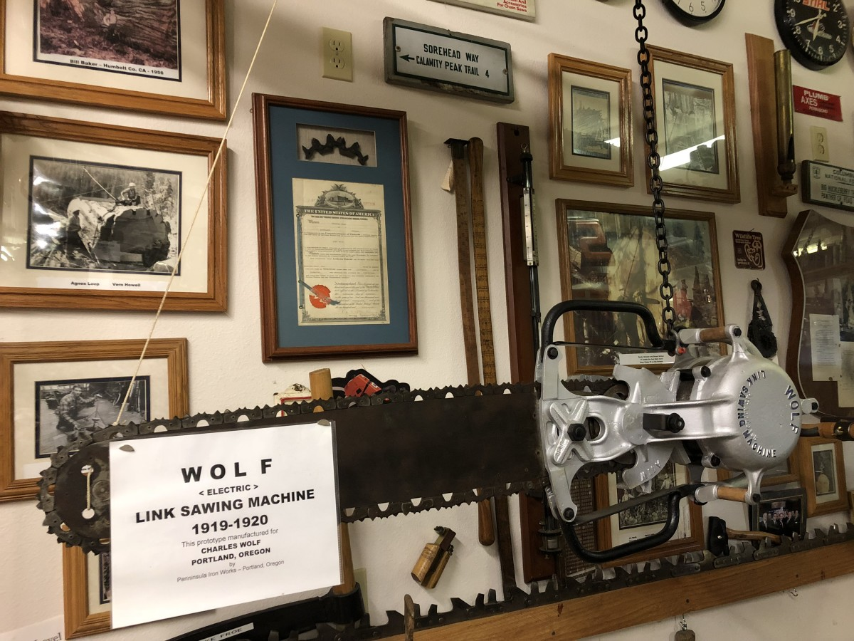 Chainsaw museum