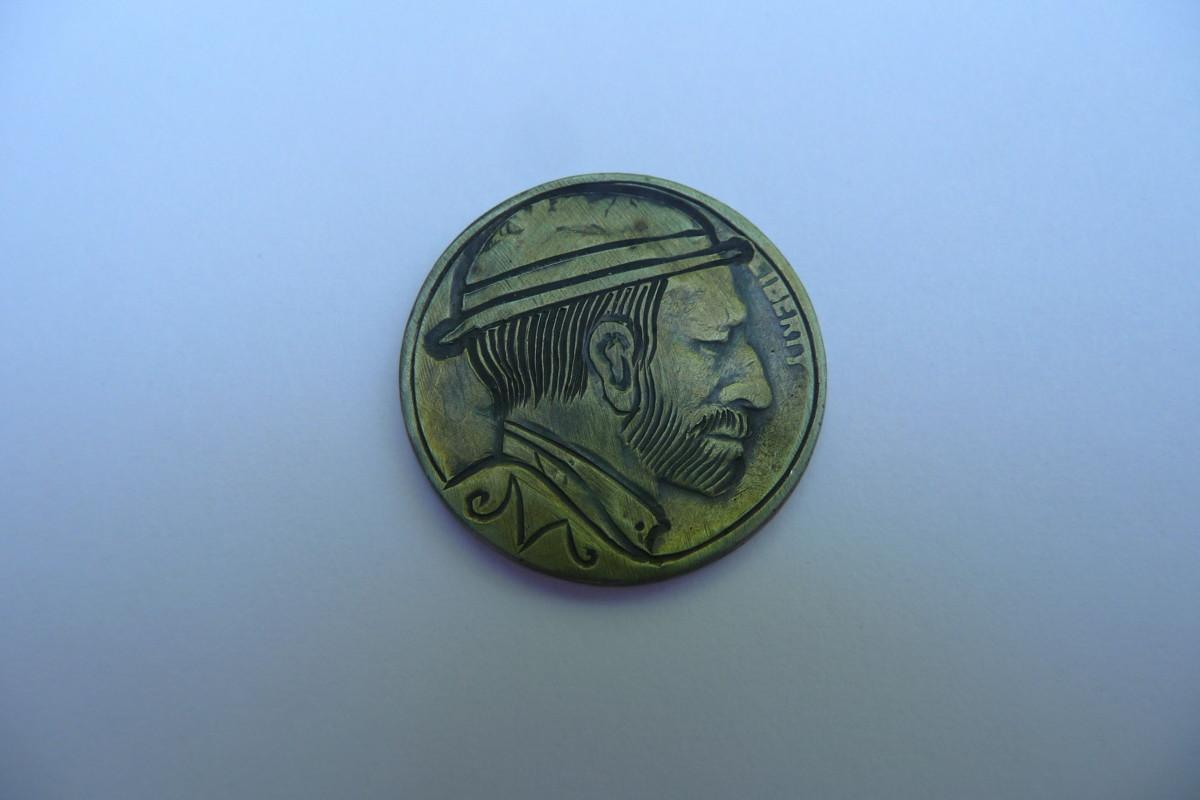 Silver dollar hobo nickel