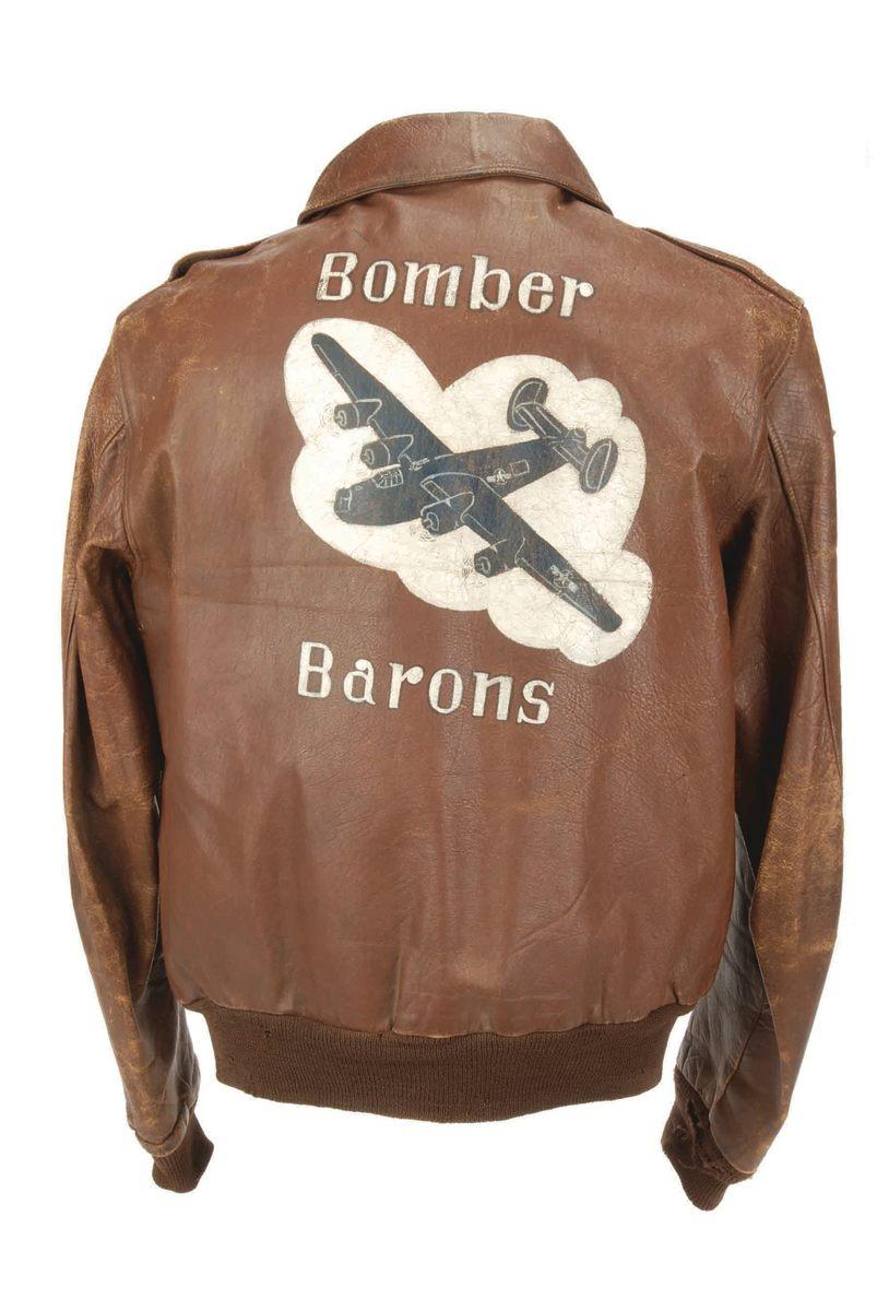 World War II flight jacket.