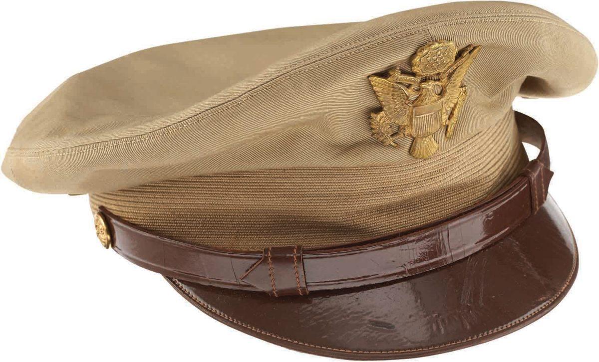 U.S. Army officer's summer cap
