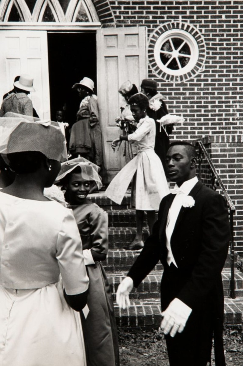 """Wedding Near Charleston, South Carolina,"" 1965. Estimate: $1,500-$2,500."