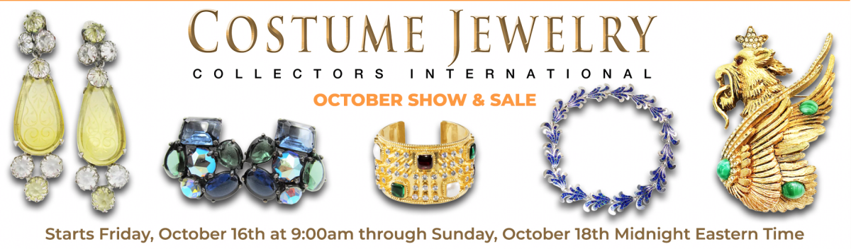 Costume Jewelry Collector's Int'l October Show & Sale