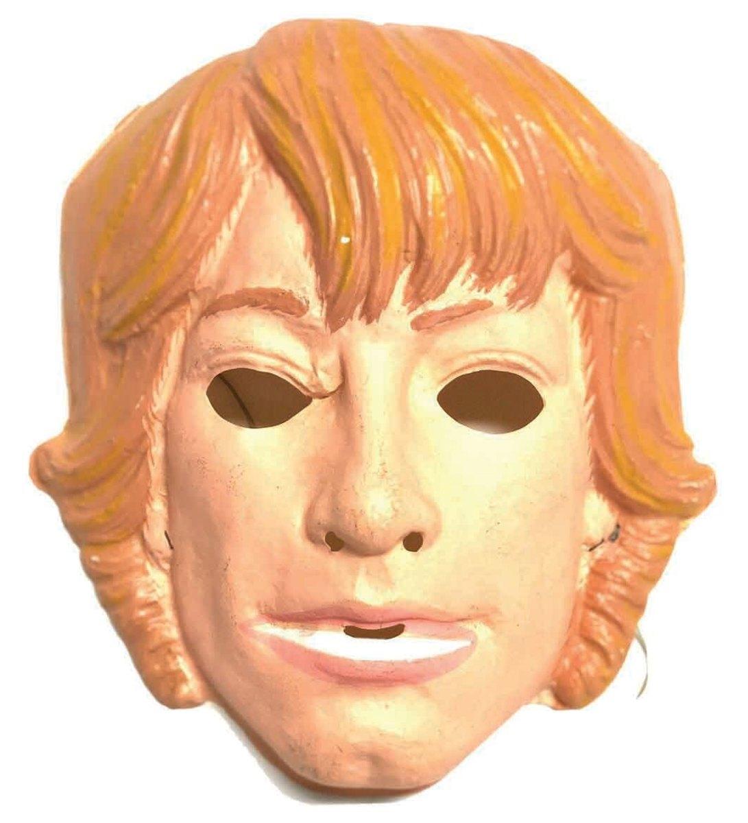 Star Wars' hero Luke Skywalker, Ben Cooper, 1977, mask only; $29.40.