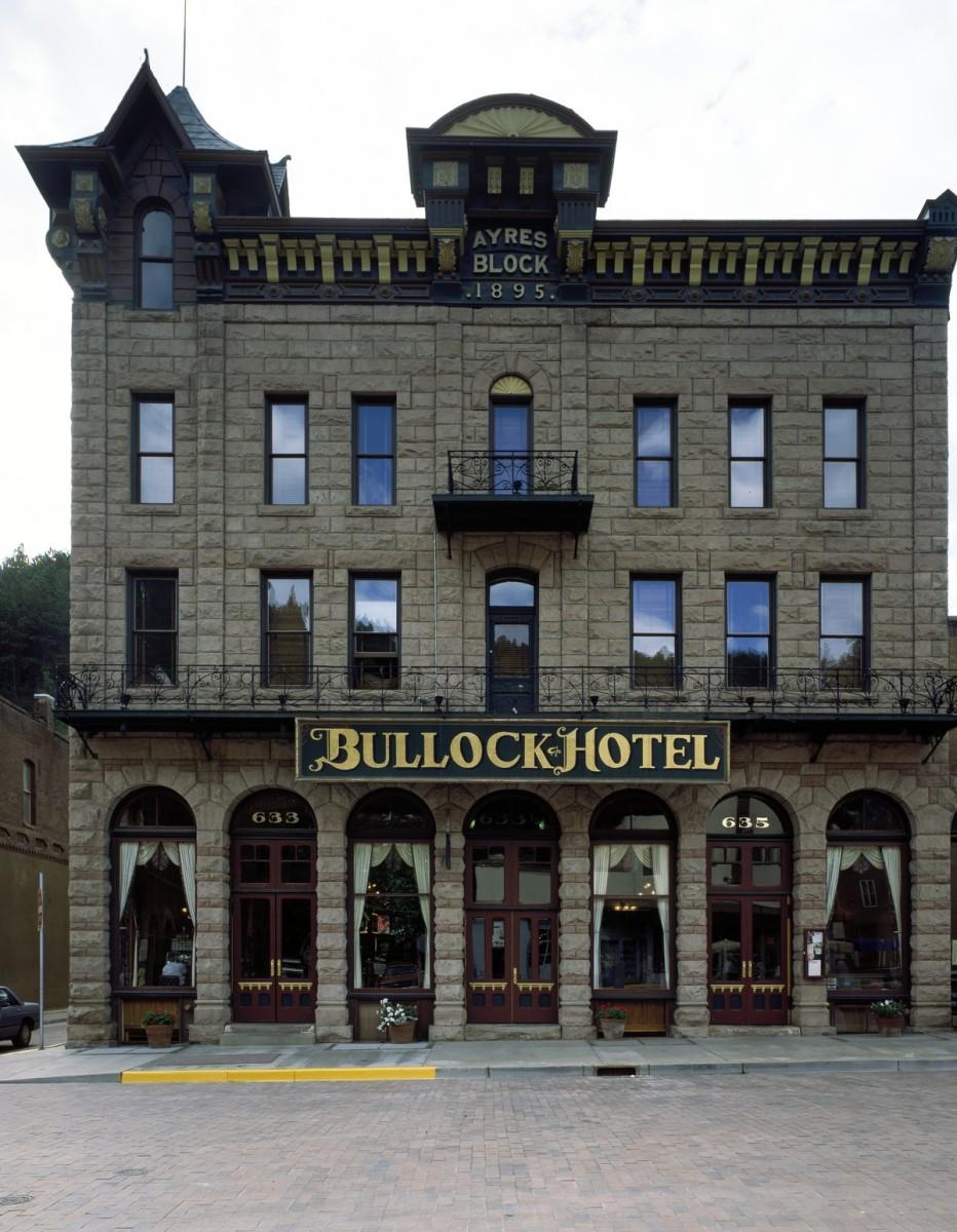 The Bullock Hotel in Deadwood, South Dakota.