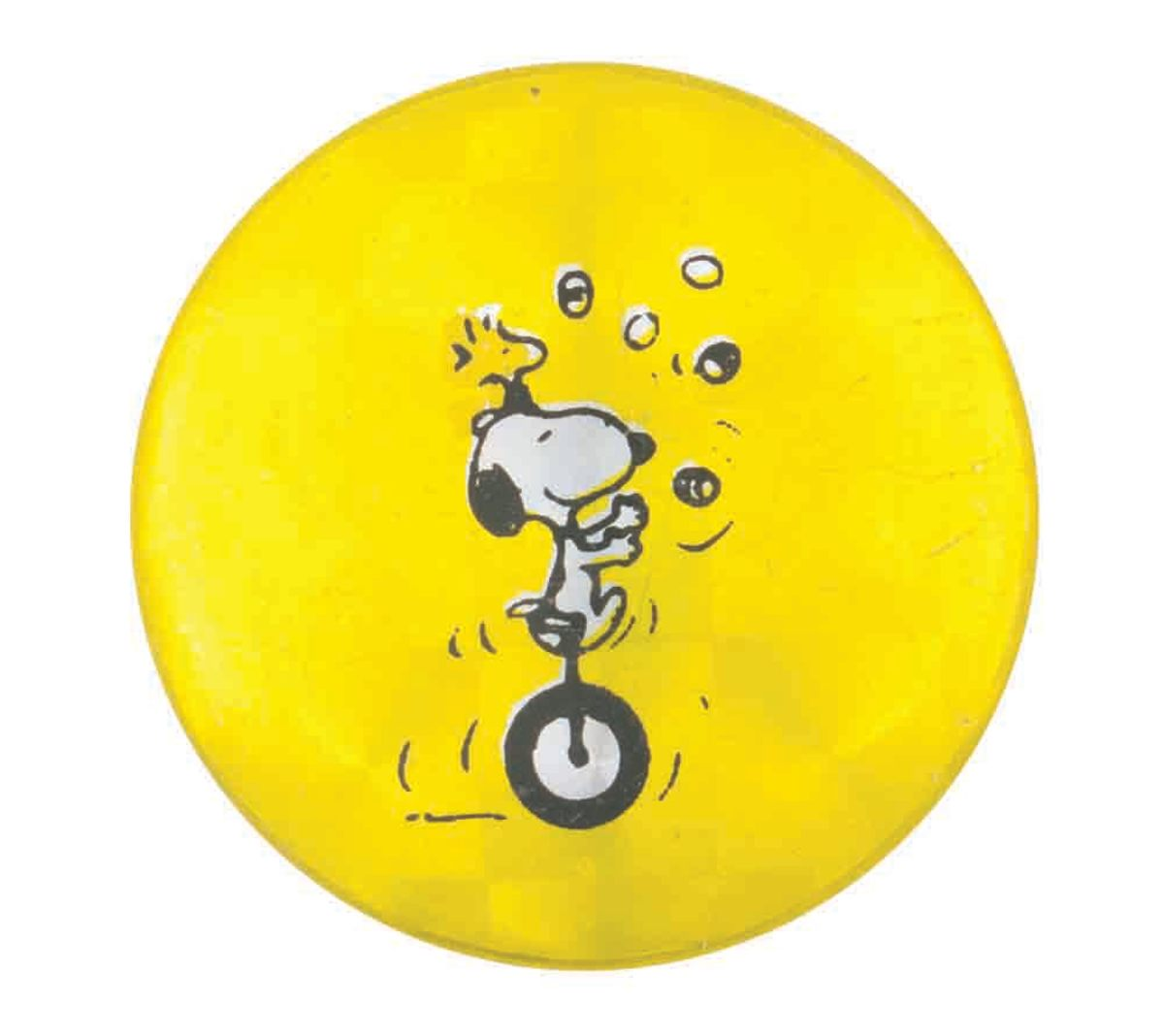 Snoopy and Woodstock button.