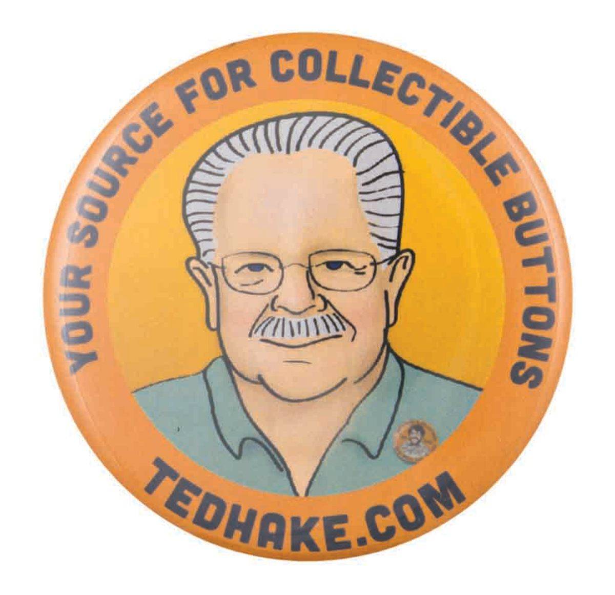 Ted Hake button, 2014