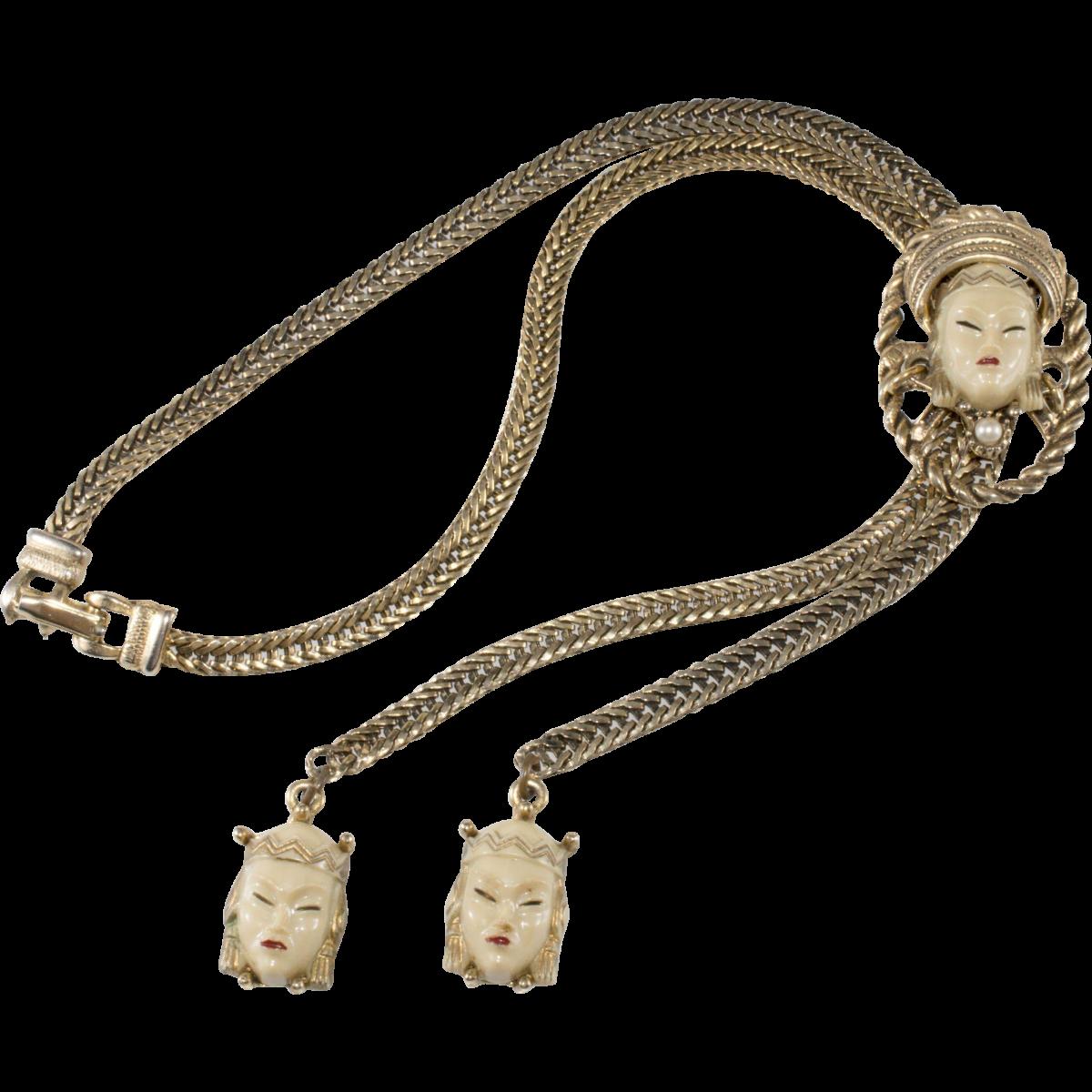Selro 'Asian Princess' bolo necklace