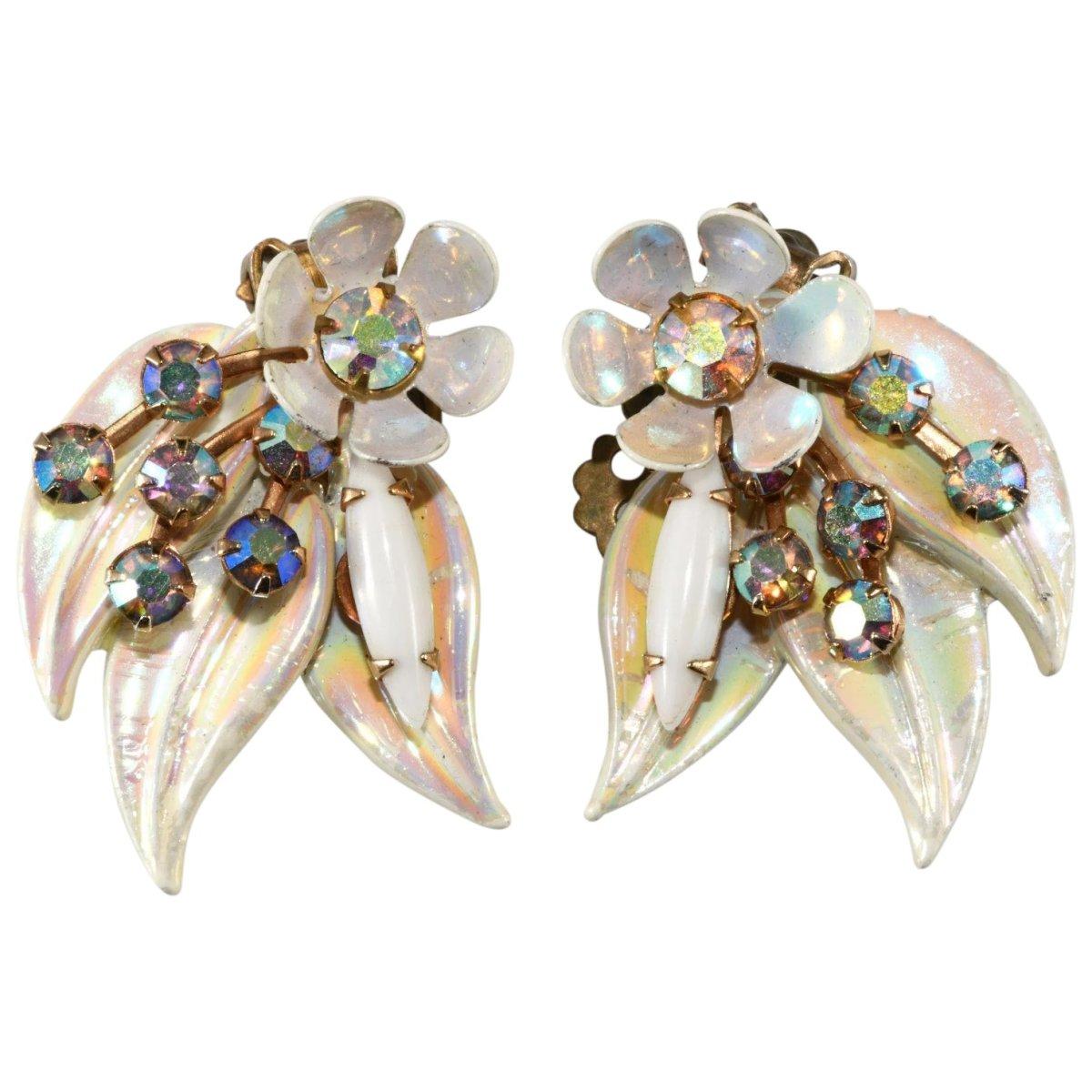 Selini enameled earrings