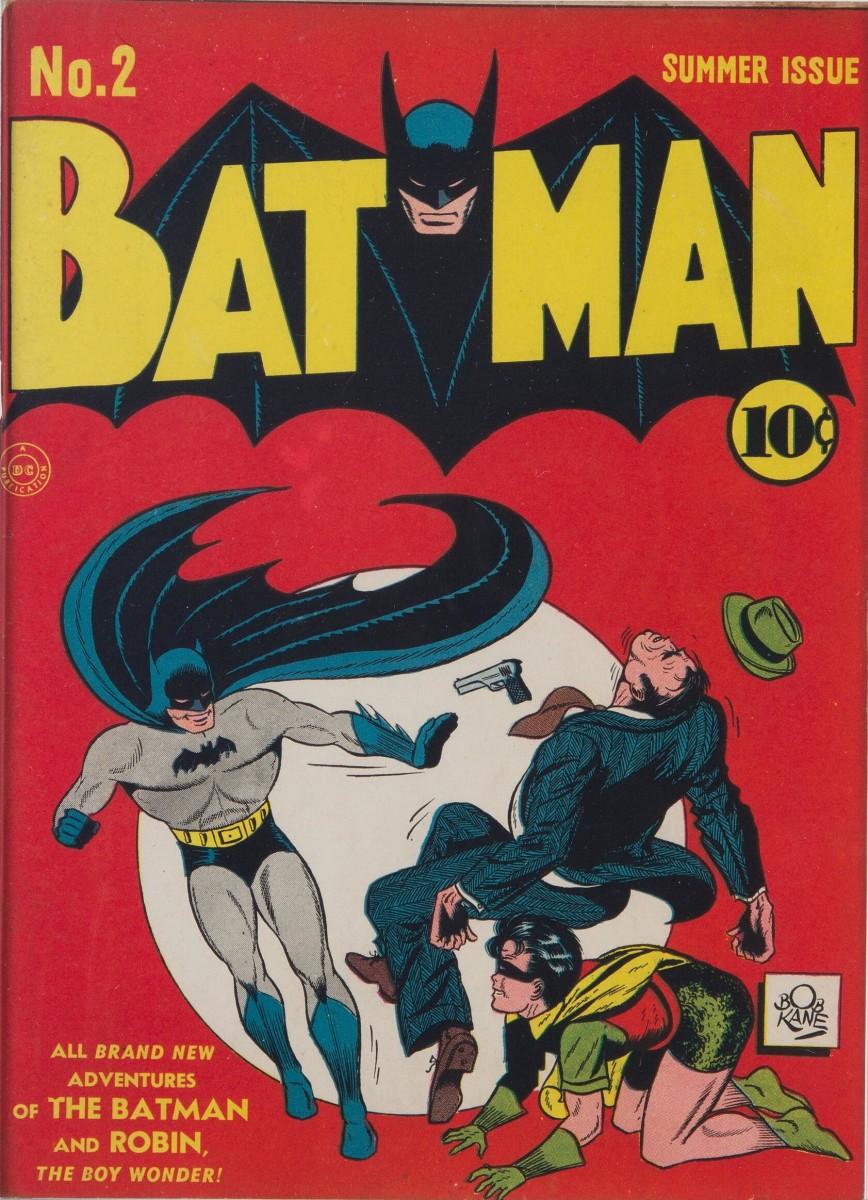 Batman #2 (DC, 1940) CGC VF/NM 9.0
