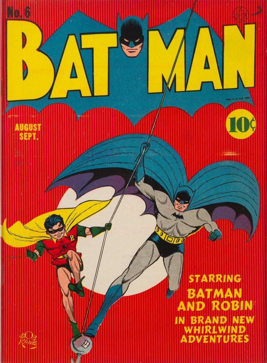 Batman #6 (DC, 1941)