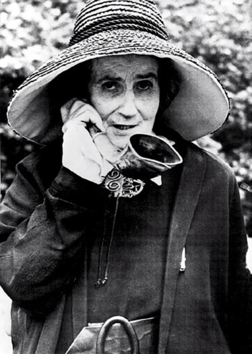 """Louise Elisabeth de Meuron (1882-1980), also known as Madame de Meuron, was a well-known eccentric Swiss aristocrat also known for her characteristic ear trumpet she said she used """"So that I hear only what I want to hear."""""""
