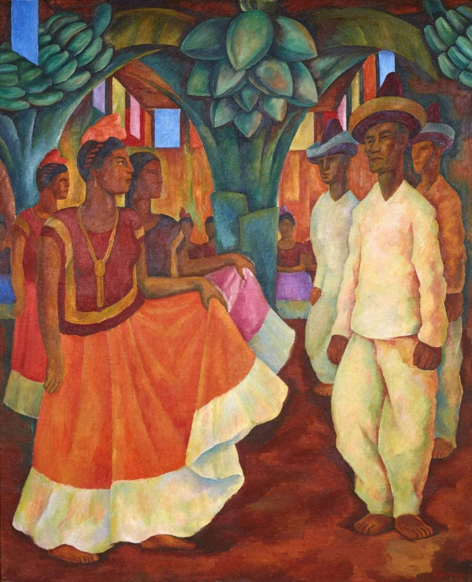 Diego Rivera's Dance in Tehuantepec, 1928, privately sold for $15.7 million.
