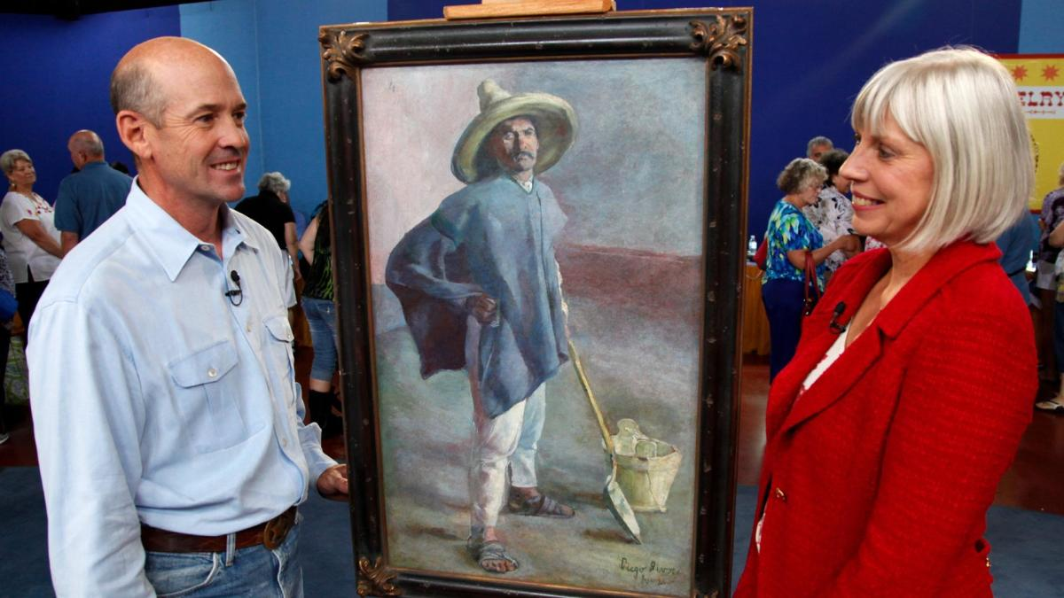 In Corpus Christi, Texas, in 2012, a man brought this painting by Rivera on Antiques Roadshow, which had been hanging behind a door in a family home. Dated to 1904, El Albañil was authenticated and appraised at $800,000-$1 million and it has since appreciated in value.