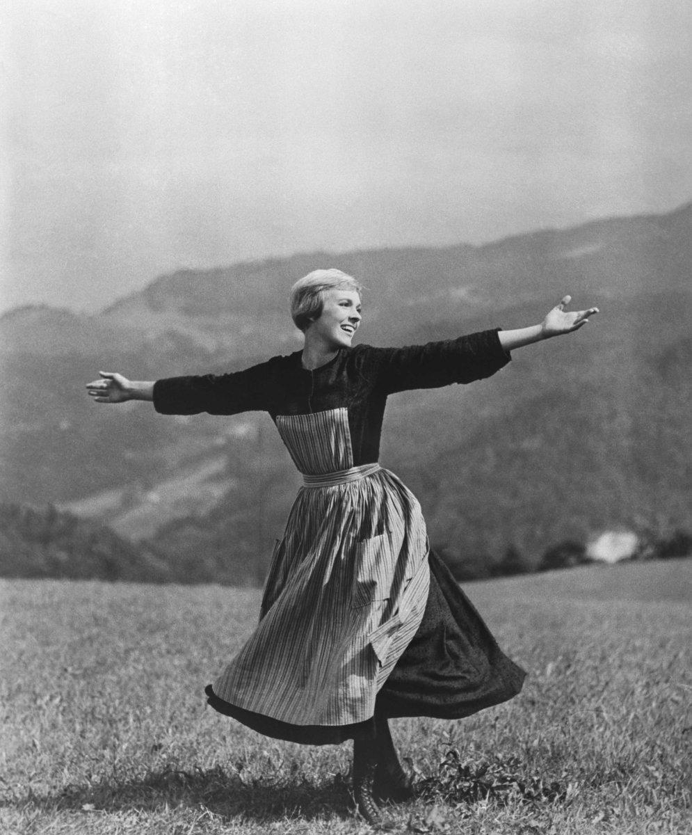 Julie Andrews as Maria von Trapp