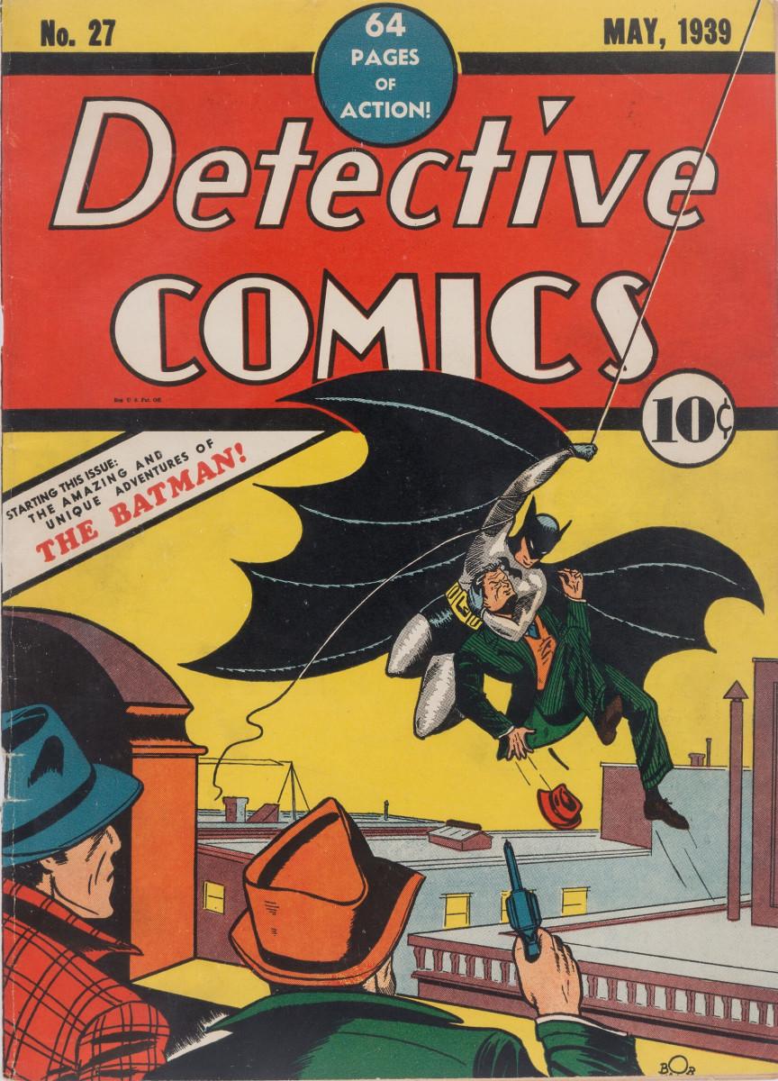 Batman's first appearance