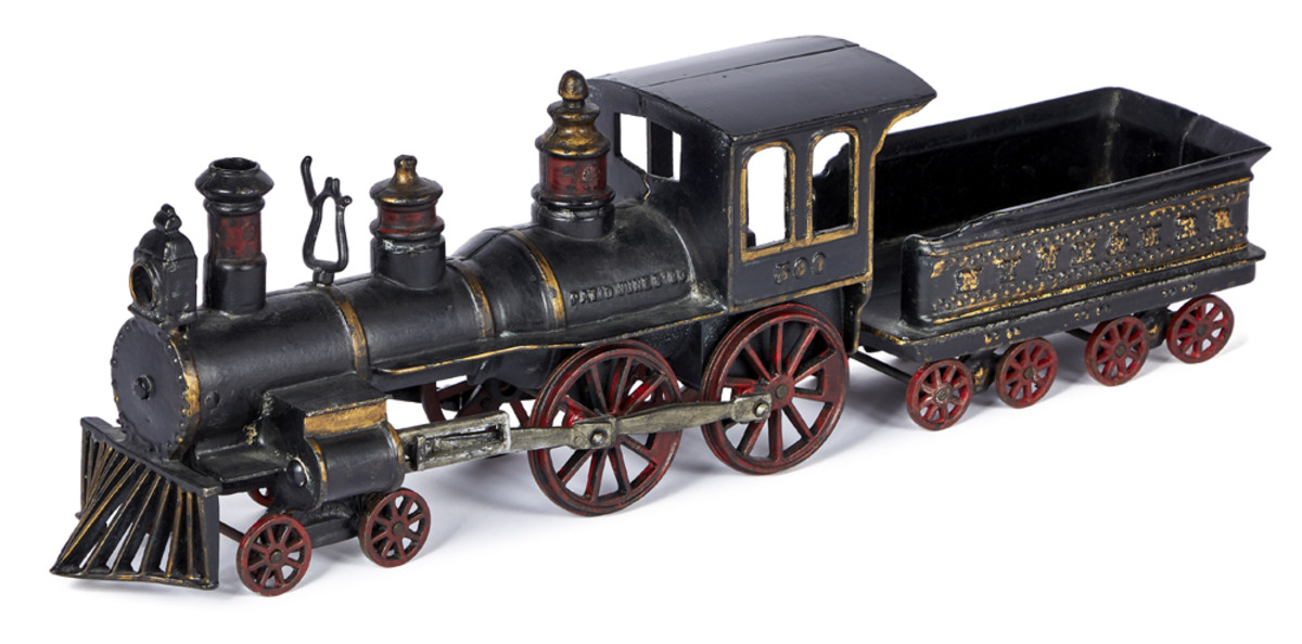 No toy auction is complete without trains and many will be offered.