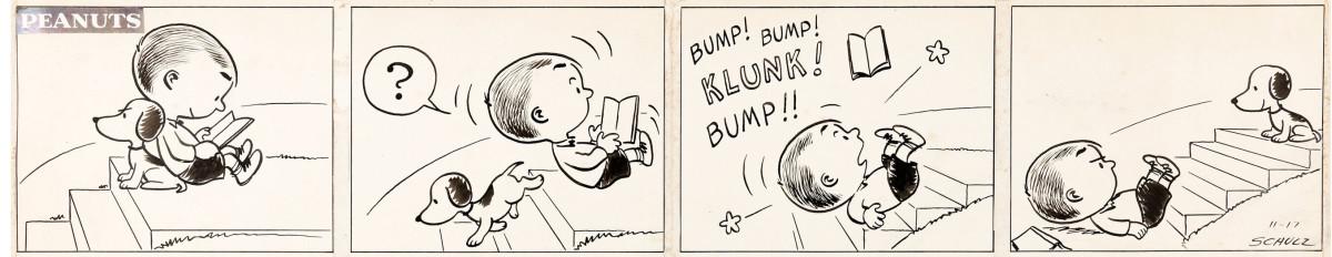 Peanuts comic strip from November 17, 1950.