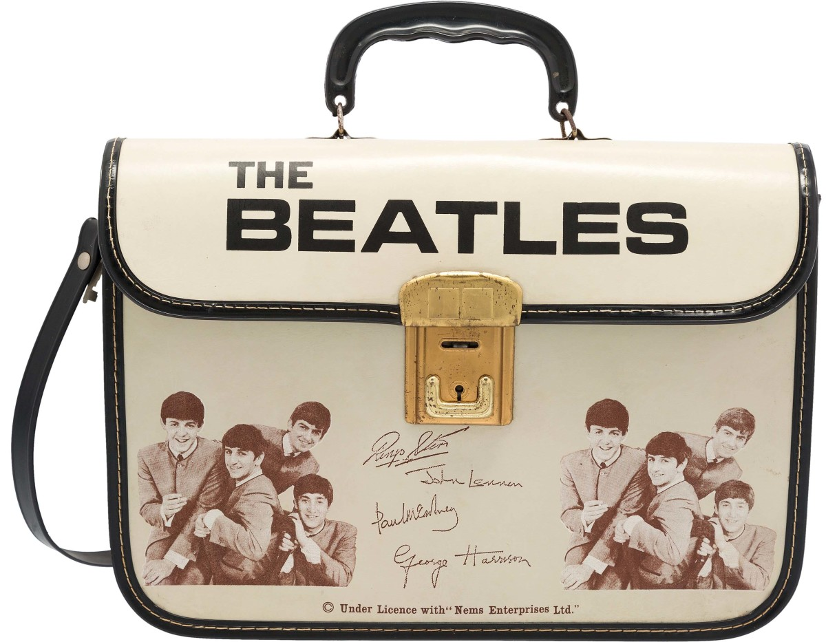 Beatles School Bag