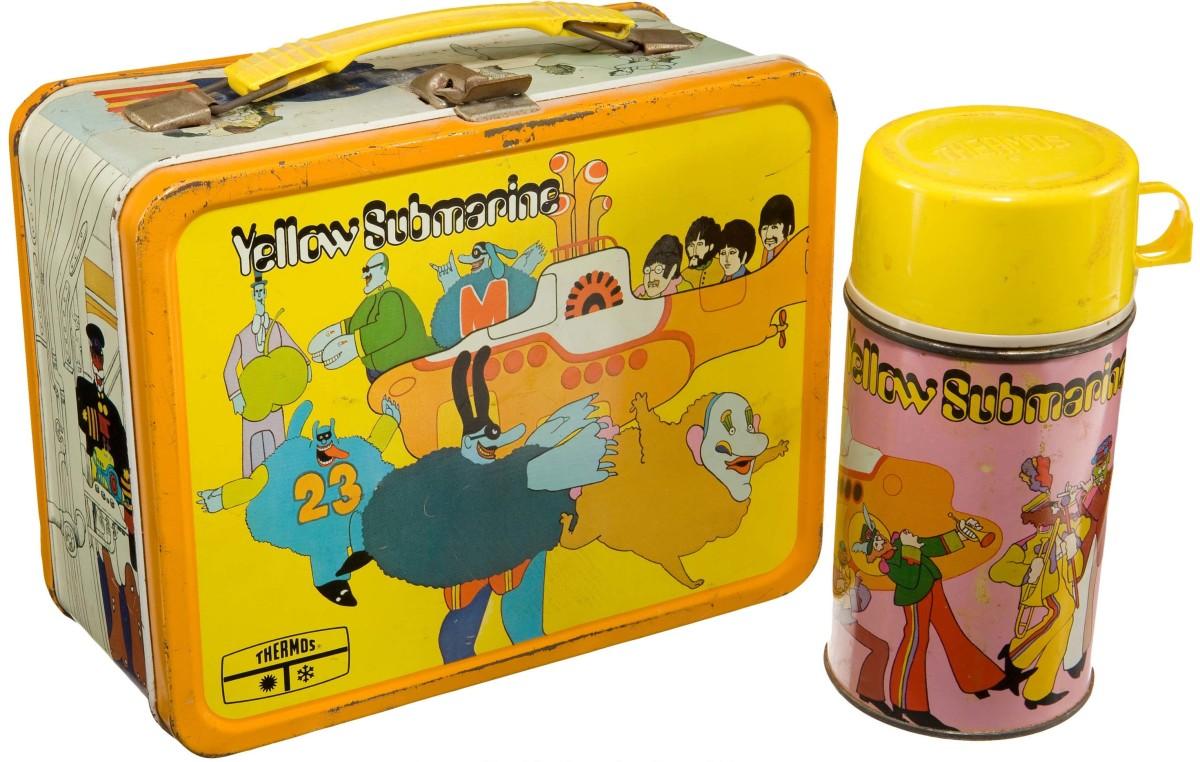 Beatles Yellow Submarine Lunch Box