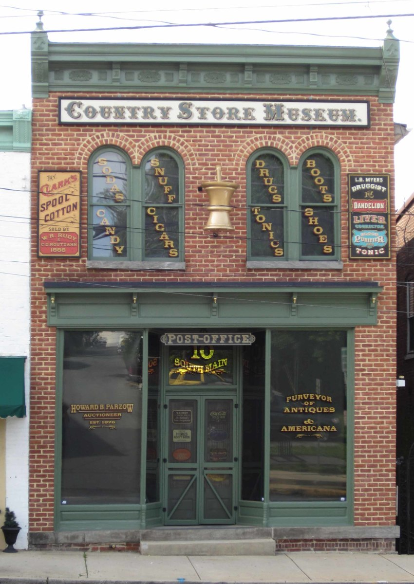 W. R. Rudy Country Store & Drug Store MuseumMount Airy, Maryland.