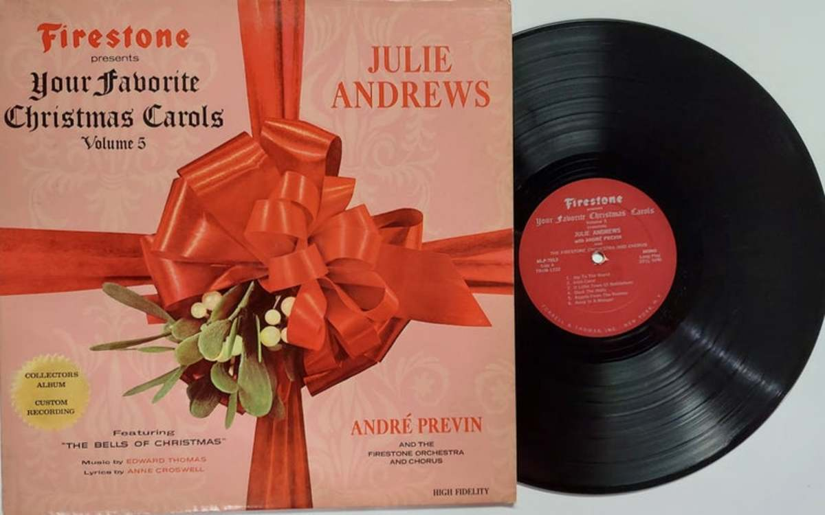 Firestone Christmas album with Julie Andrews