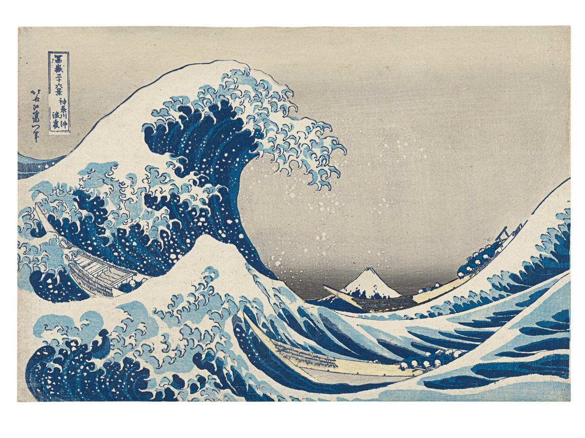 One of the most iconic pieces of Asian art in the world is Katsushika Hokusai's 1831 woodblock print, Under the Wave Off Kanagawa. In September 2020, this set the world record for the print by the artist when it sold for $1.1 million at Christie's, breaking its previous record set in 2017 when it fetched $943,500, also at Christie's.