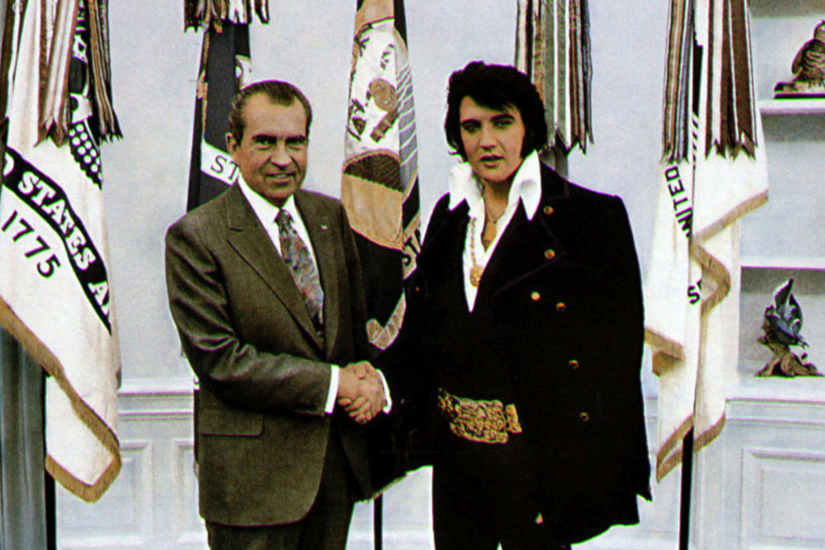 When Elvis and Nixon met, an iconic fashion moment was born.