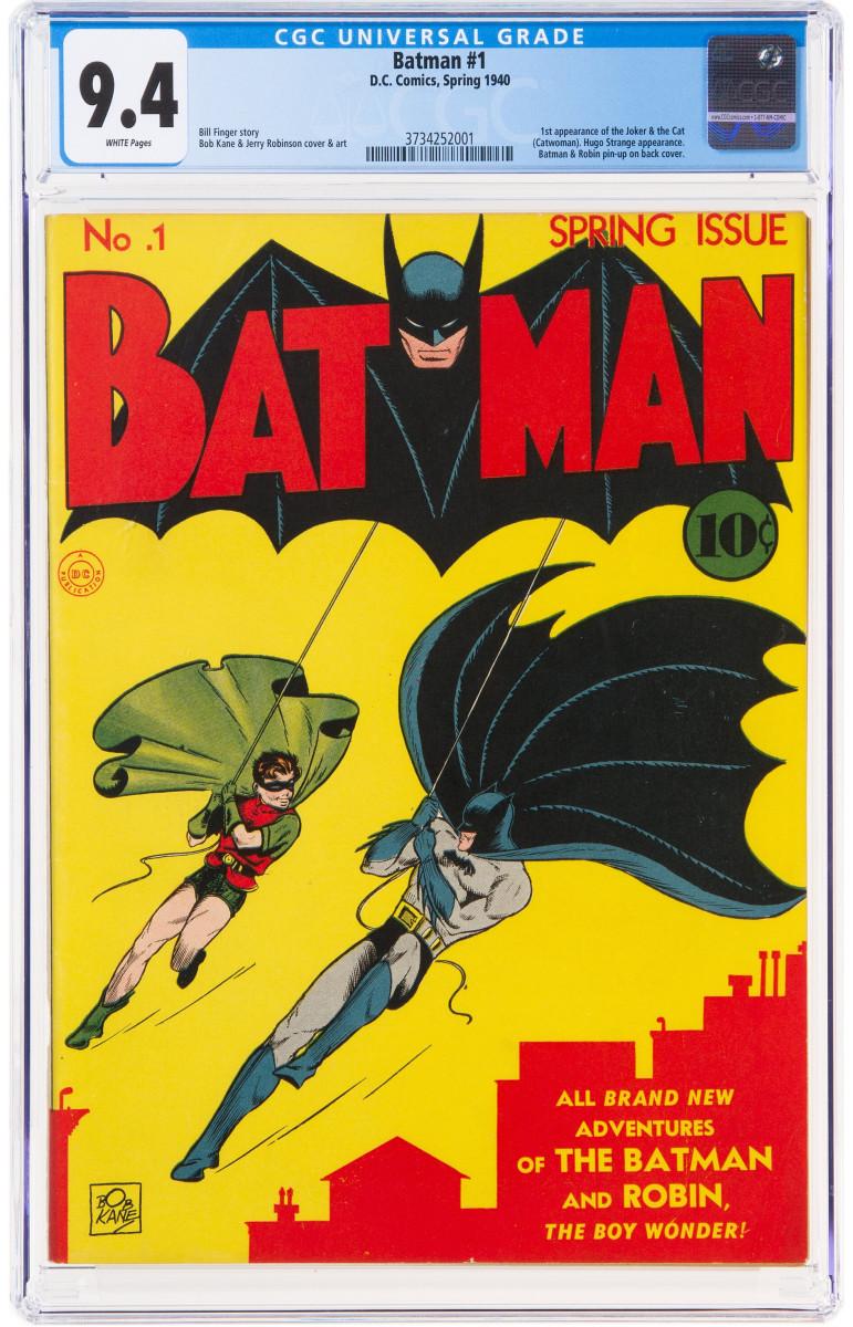 Batman #1 (DC, 1940)