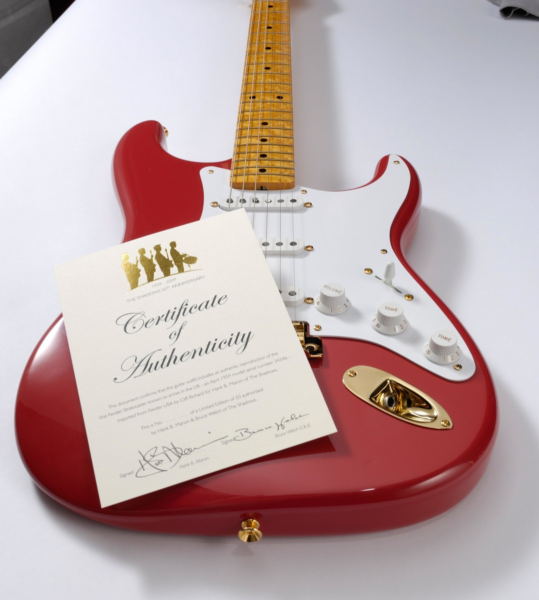 Fender Custom Shop Red Stratocaster 59