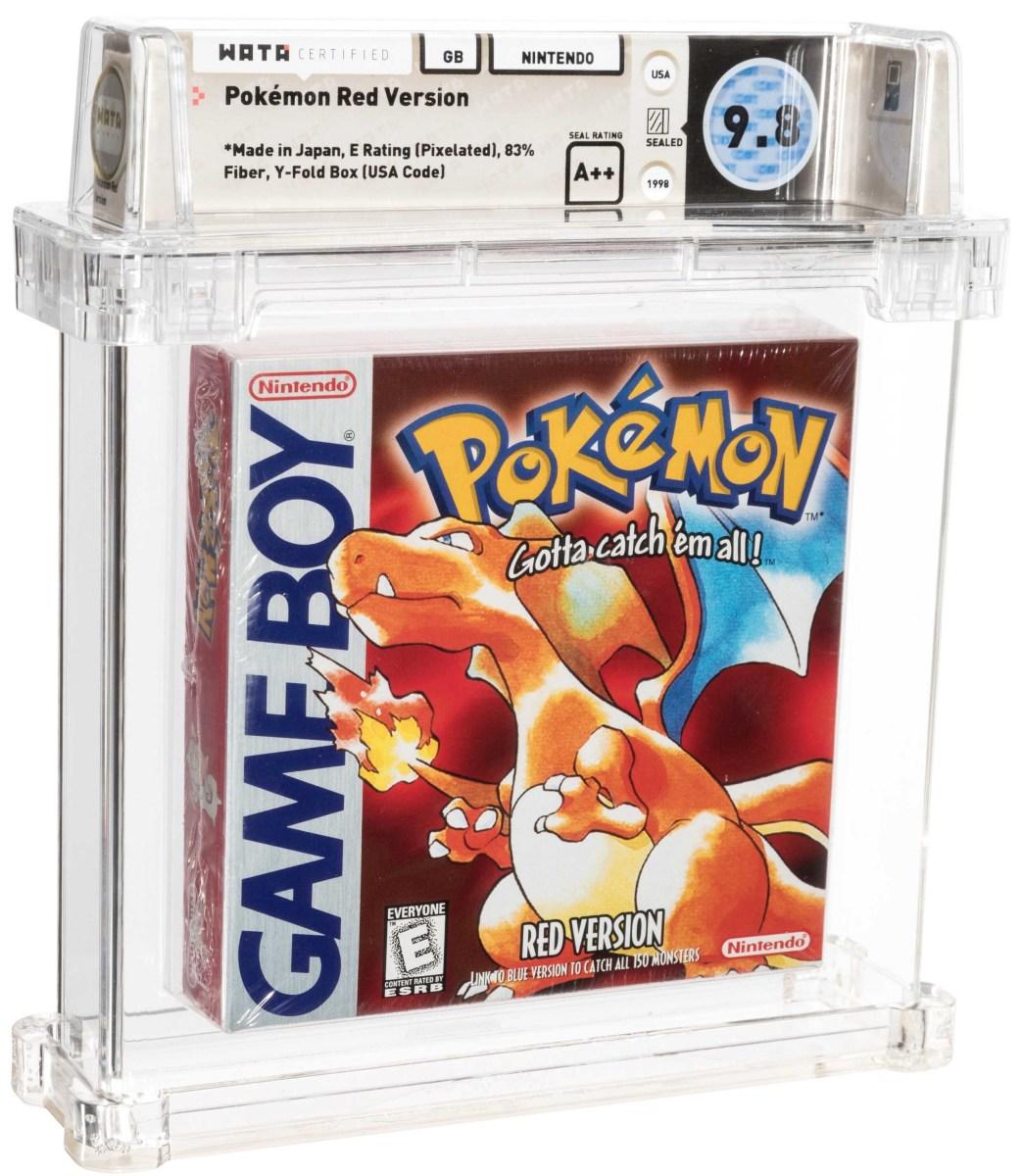 Game Boy Pokémon Red Version