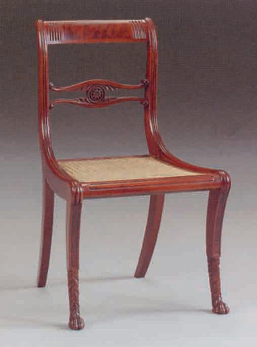 Empire period chair