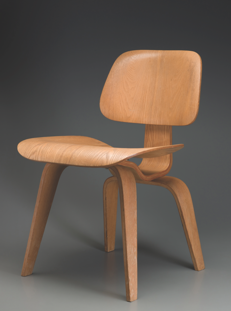 Charles Eames designed DCW chair