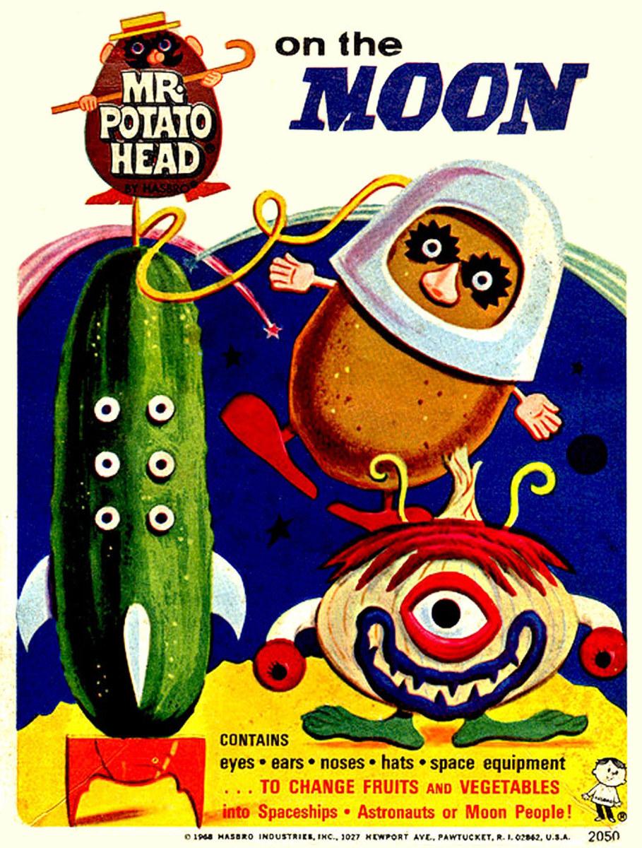 Mr. Potato Head on The Moon