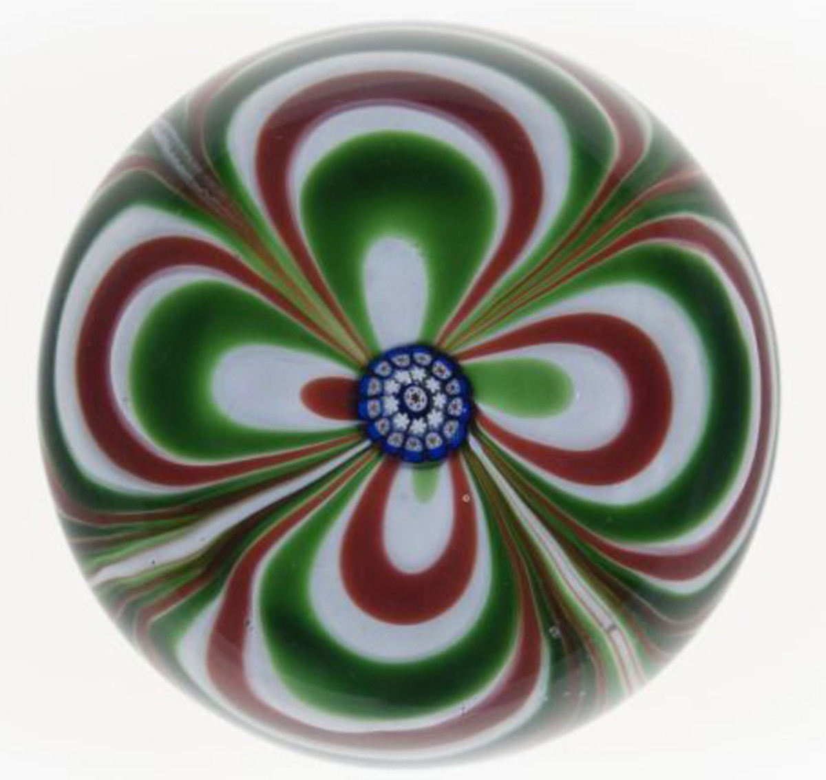 paperweights, c. 1846-55, from Saint-Louis, France,
