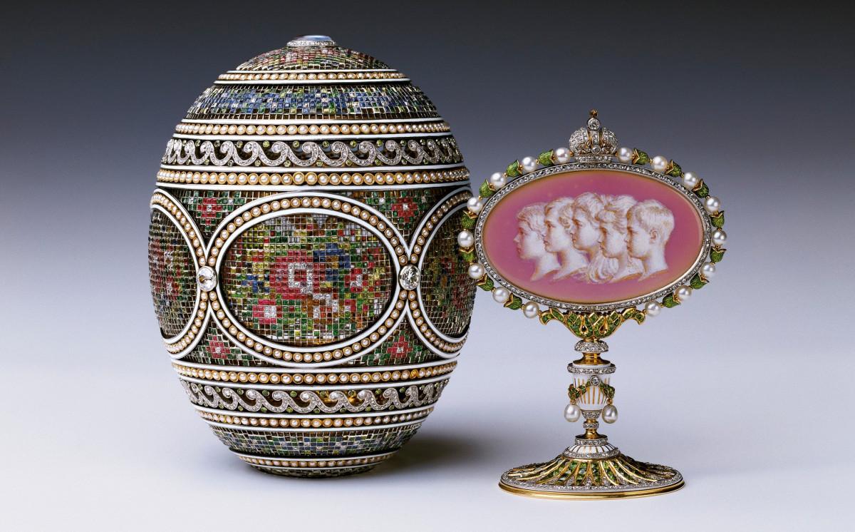 The Mosaic Egg, 1914.