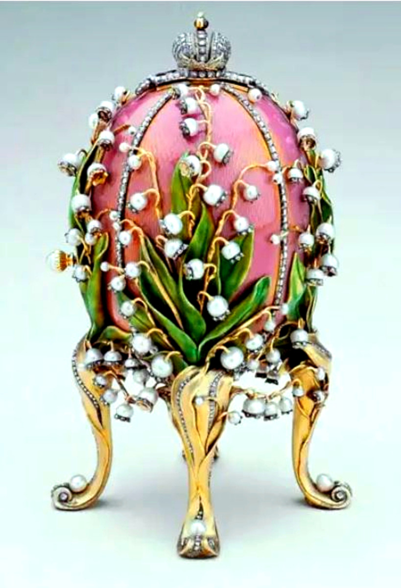 Lilies of the Valley Egg, 1898.