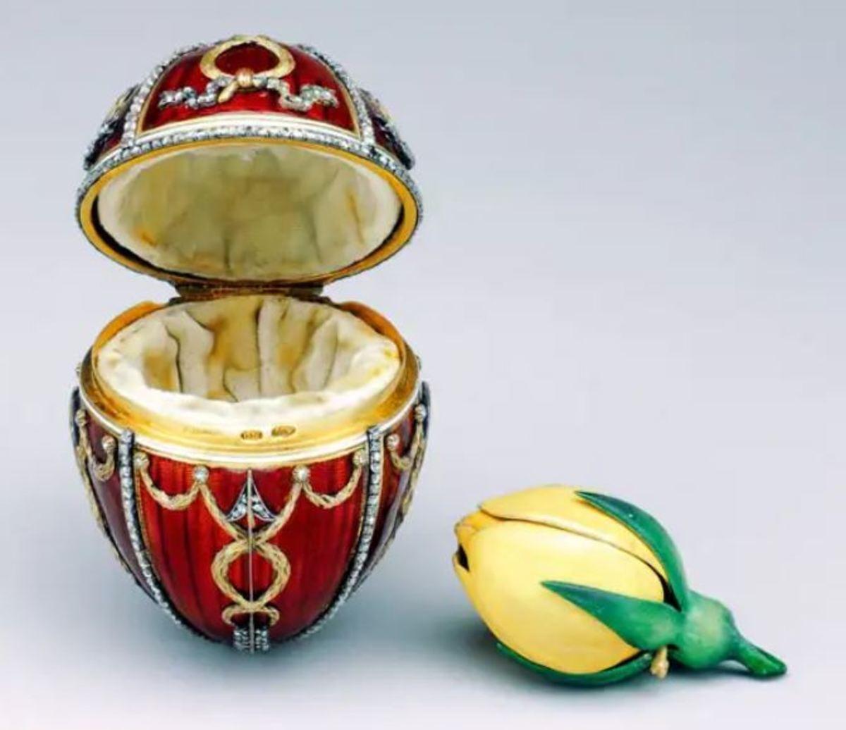 Rosebud Egg, 1895.