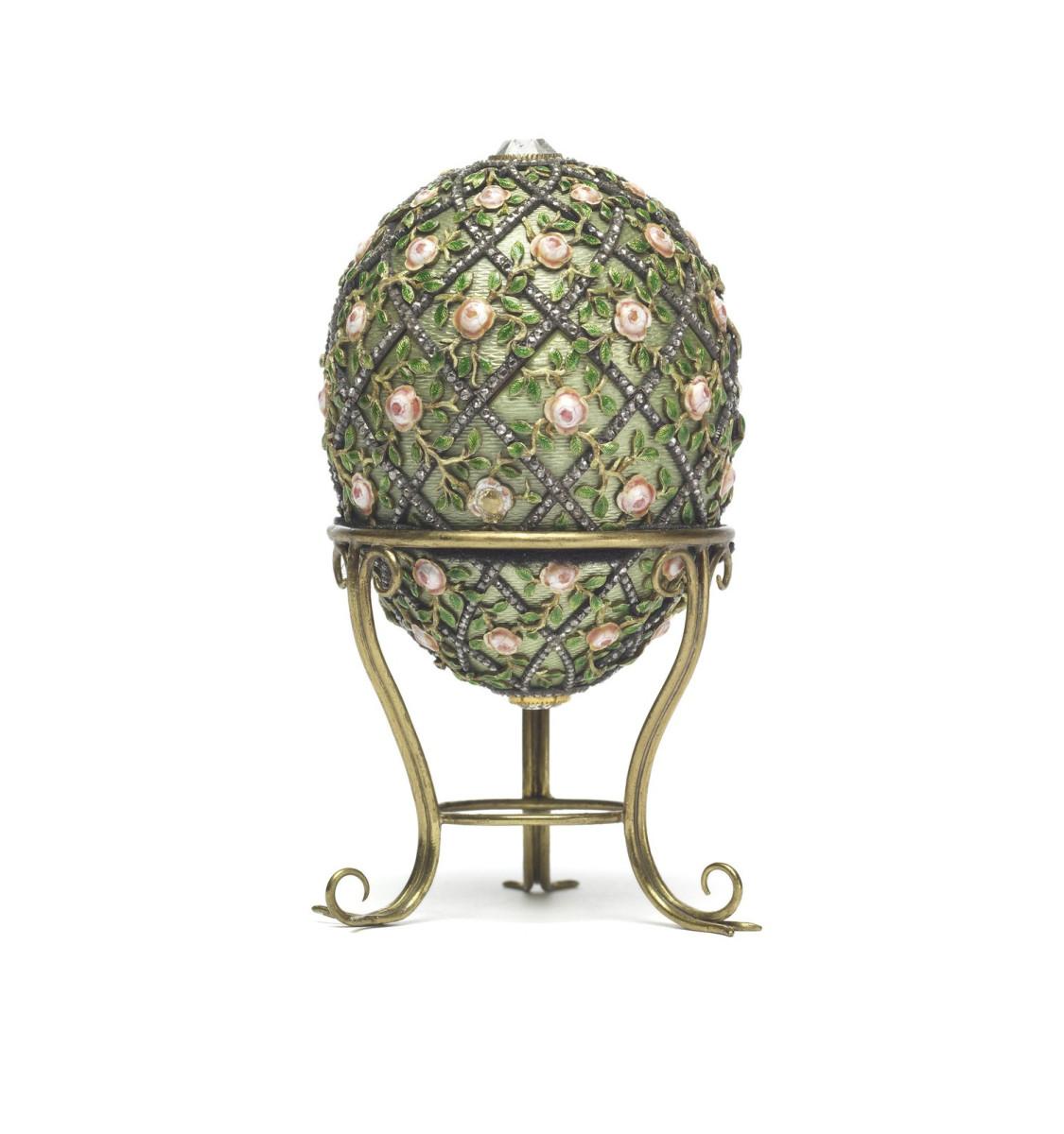 Rose Trellis Egg, 1907.