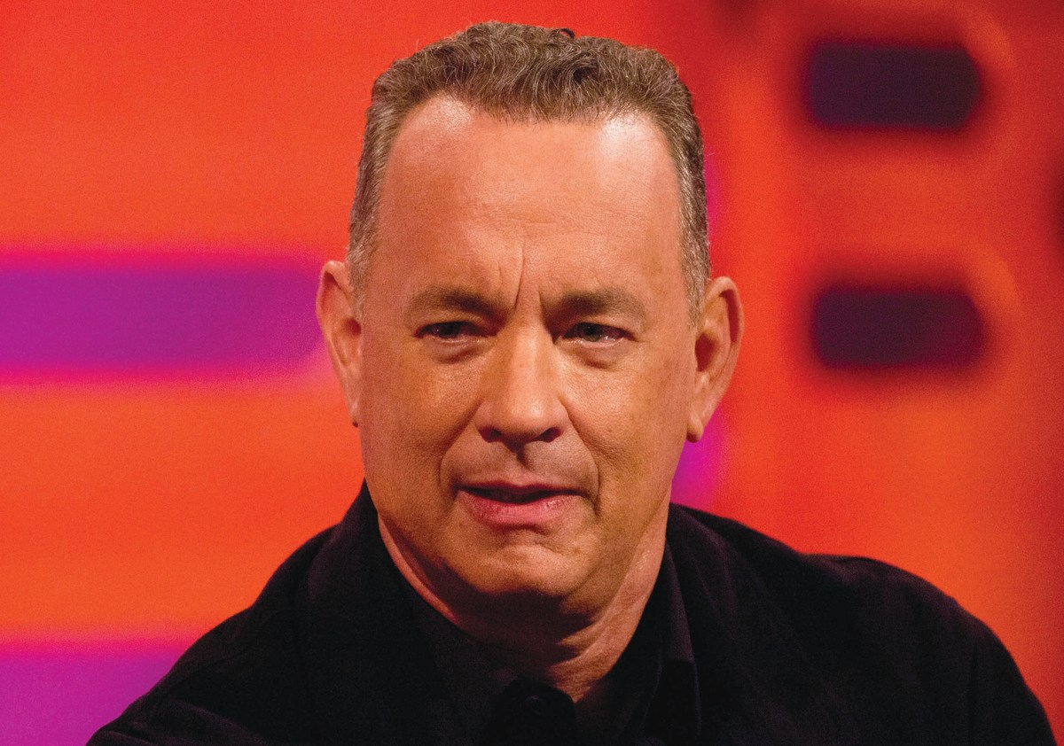 Tom Hanks, typewriter lover