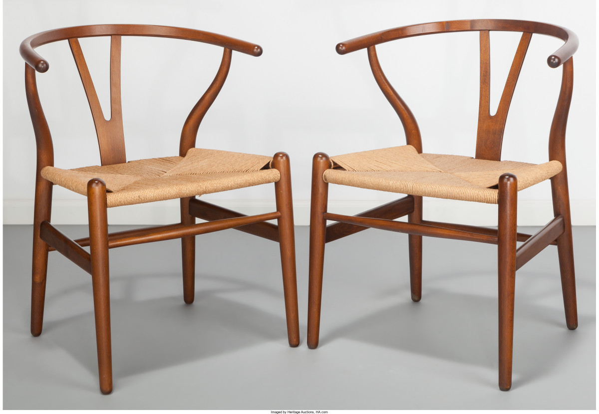 While Hans Wegner would design some 500 chairs throughout his impressive career, the Wishbone Chair remains his most recognizable.