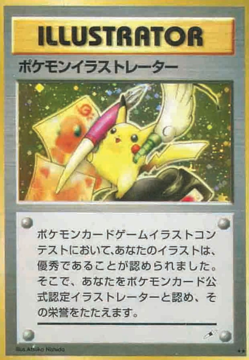 "Pokémon was big in 2000 and 20 years later, it has held onto its popularity and is the second most popular trading card game sold on eBay, with rare cards sold for upwards of tens of thousands of dollars each time one of them goes on the market. Sometimes even hundreds of thousands of dollars, as was the case with this rare Nintendo ""Pikachu Illustrator"" card, which soared to a new world auction record after selling for $224,250 at Weiss Auctions late last year."