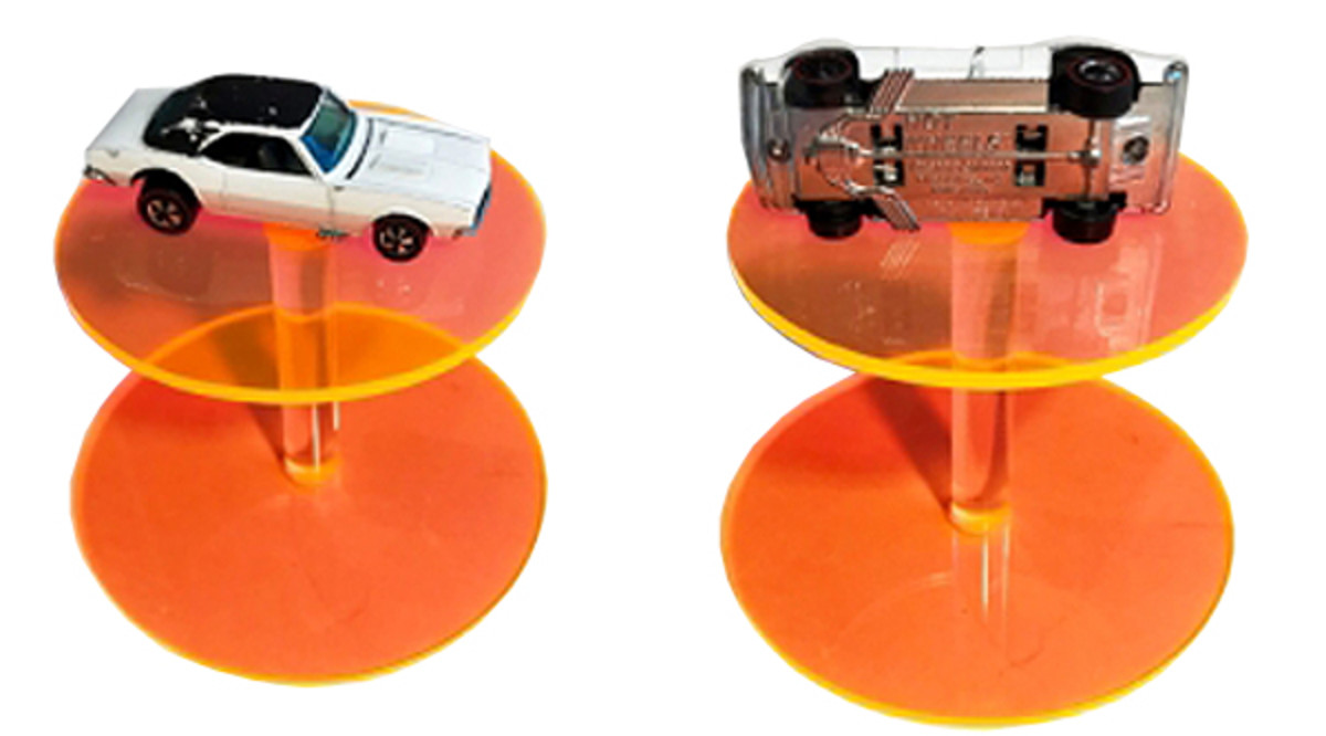 A rare Hot Wheels Custom Camaro prototype is believed to be the earliest Hot Wheels caster ever created by Mattel